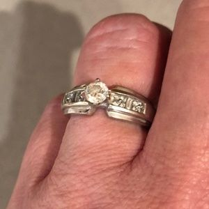 Jared Le Vian 14k 1.5ct Diamond Engagement Ring